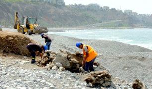 Miraflores recogió más de 50 toneladas de escombros de playas