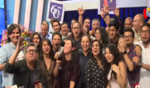 Trabajadores celebraron los 60 años de Panamericana Televisión