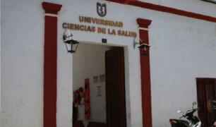 Sunedu deniega licencia institucional a la Universidad Ciencias de la Salud de Arequipa