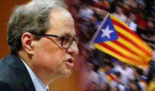 España: presidente catalán propone nuevo referéndum en medio de protestas