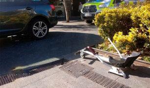 Niño fue atropellado cuando se movilizaba en un scooter 'modificado'
