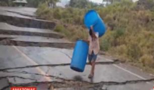 Amazonas: tierra se hunde y afecta 40 pueblos
