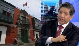 """Magistrado Carlos Ramos: """"Es una responsabilidad histórica que no ocurre todos los días"""""""