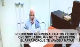 """Luis Nava denunció amenazas en cárcel: """"No te metas con el Apra porque te vamos a matar"""""""