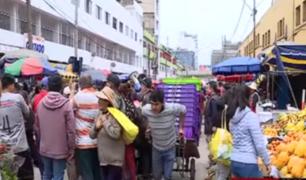 La Victoria: A mes y medio de cierre de 'La Parada', comerciantes exigen reabrir mercado