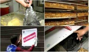 Clausuran panaderías que preparaban turrones en condiciones insalubres