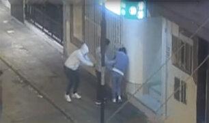 Independencia: asaltan a pareja de enamorados
