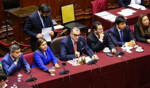 Comisión Permanente pedirá informe sobre reactivación de Subcomisión de Acusaciones