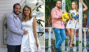 Carla Tello responde sobre rumores de infidelidad de Junior Silva