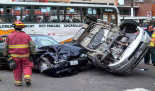 En Perú las víctimas de accidentes de tránsito superan a las de inseguridad