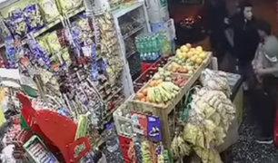 Surco: empleado enfrenta a ladrones y frustra asalto a bodega