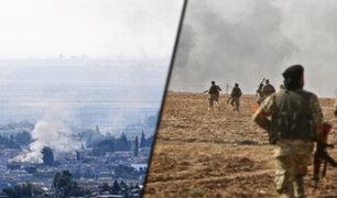 Ataques en Siria continúan pese a la tregua pactada entre EEUU y Turquía