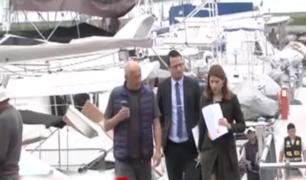 Así fue la diligencia de inspección del club embarcadero del fallecido Alan García