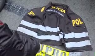 San Isidro: hampones capturados utilizaban chalecos policiales para simular intervenciones