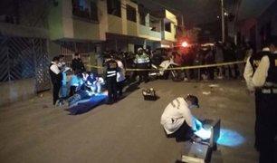 Comas: mujer fue asesinada a balazos para robarle su mototaxi