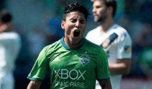 Raúl Ruidiaz marcó su gol número doce en la temporada de la MLS