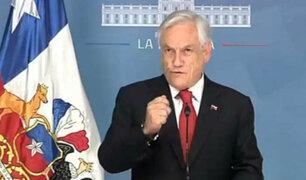 Chile: Piñera suspende alza de pasaje tras disturbios en estado de emergencia