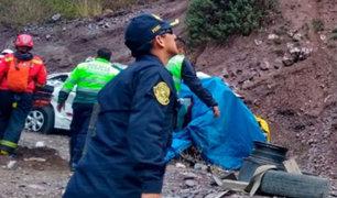 Accidente en Huarochirí: conductor de bus que cayó abismo es buscado por la policía