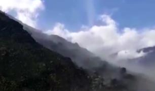 Vraem: maquinaria trabaja para despejar vía San Francisco - Ayacucho