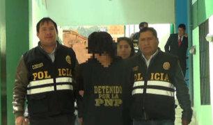 Cusco: capturan a padre acusado de violación que se fugó de Fiscalía