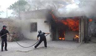 Chiclayo: persona con discapacidad muerte durante incendio en su vivienda