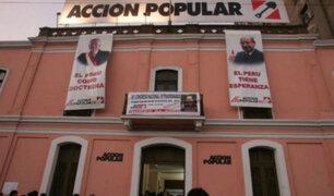 Elecciones 2020: AP elegirá candidatos al Congreso el 3 de noviembre