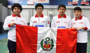 Mundial de Geometría: escolares coronan a Perú como el mejor del continente