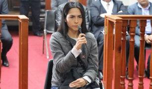Dictan 4 meses de prisión preventiva para Melisa González Gagliuffi