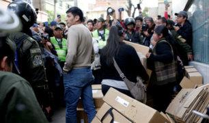 Bolivia: Resultados preliminares dan como vencedor a Evo Morales