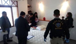 Alan García: fiscal conforme con allanamiento a casa de Roxanne Cheesman