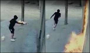 Prenden fuego a fachada y camión: víctimas denuncian que PNP no les ayuda