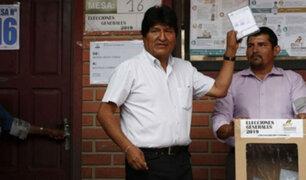 """Bolivia: OEA expresó """"preocupación"""" tras cambio drástico de resultados electorales"""