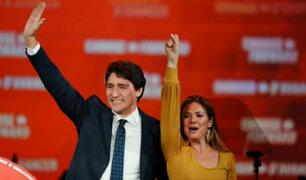 Canadá: Justin Trudeau ganó elecciones pero tendrá minoría