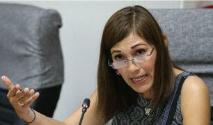 """Milagros Salazar sobre pedido de suspensión a Pedro Chávarry: """"No he blindado a nadie"""""""
