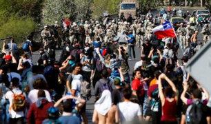 Masivas protestas por quinto día consecutivo en varias zonas de Chile