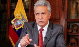 """Ecuador: Lenín Moreno tilda de """"asno"""" a Nicolás Maduro"""