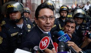 Caso árbitros: PJ deja al voto apelación de Humberto Abanto