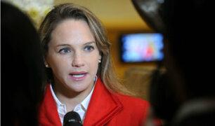 Luciana León negó tener vínculos con organización 'Los Intocables Ediles'