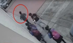 Comas: adolescente de 15 años ataca con arma blanca a escolar para robarle su celular