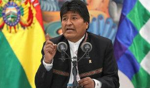 Bolivia: manifestaciones en contra de Evo Morales se radicalizarían