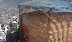 Hallan tres cadáveres con impactos de bala en vivienda de Comas