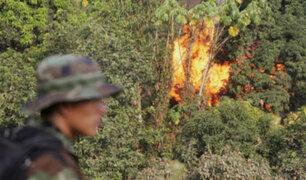 Destruyen más de 40 laboratorios de fabricación de droga en frontera con Colombia