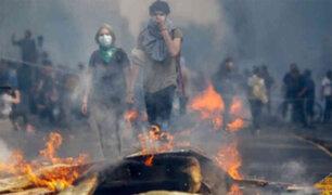Chile: reportaron tres peruanos muertos en medio de protestas