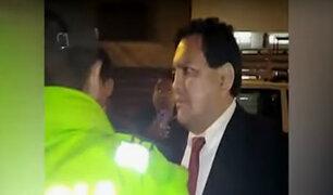 Excongresista Gustavo Pacheco es detenido tras atropellar a una persona