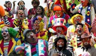 Mira como se celebra la gran convención de payasos en México