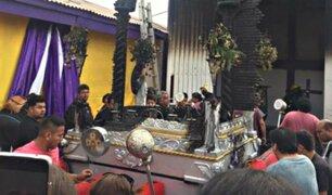Chile: se incendia imagen del Señor de los Milagros en capilla