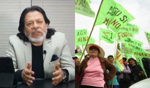 César Gutiérrez: protestas contra Tía María no reflejan posición mayoritaria