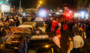 Trujillo: choque múltiple deja 15 heridos en Av. Víctor Larco