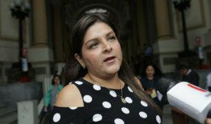Karina Beteta anunció que denunciarán a integrantes del gabinete Zeballos