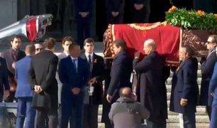 Exhumaron restos del dictador español Francisco Franco